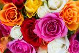Fototapeta bouquet of fresh roses