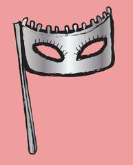 doodle masquerade masks