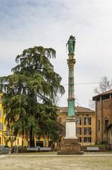 Virgin Mary statue in Bologna, Italy