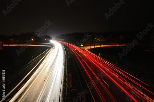 Südtangente bei Nacht - 81515538