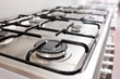 Close up image of the gas stove - 81515912