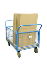 The image of a transport cart
