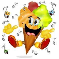 gelato e musica rock