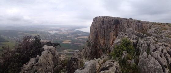 Arbel mountain Israel