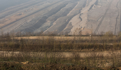 coal surface mining hambach germany