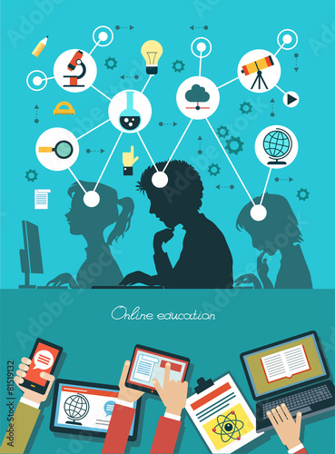 Infographic design of education - 81519132