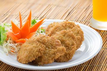 """Thai Food """"Fried Shrimp Cake"""""""