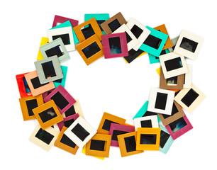 Photo frames for slide