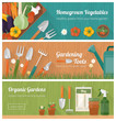 Gardening and diy banner set - 81519773