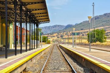 Estación de ferrocarril, Almorchón, Badajoz, España