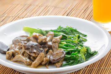 Duck's Tongue Stew, Chinese Style