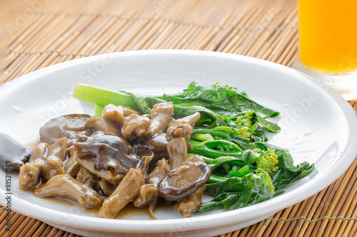 Leinwanddruck Bild Duck's Tongue Stew, Chinese Style