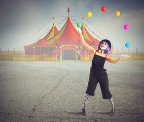 Jester clown