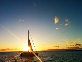Sunset Sailing