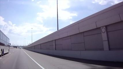Interstate Freeway Travel, Bus