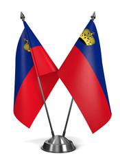Liechtenstein - Miniature Flags.