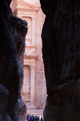 Entrance to Petra, Jordan