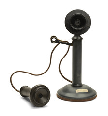Old Telephone Off Hook