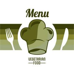 vegetarian food menu