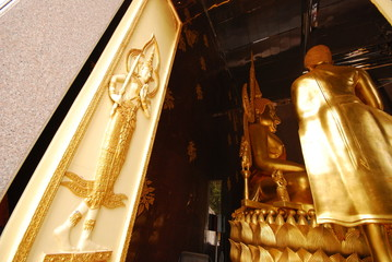 architecture design in Thai temple