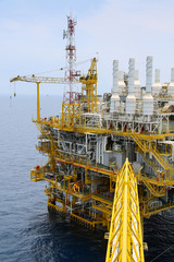 Offshore oil and gas production and exploration business.