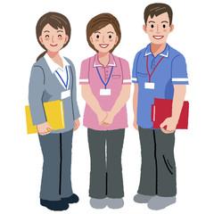 福祉士 ケアマネージャー Geriatric care manager and social workers