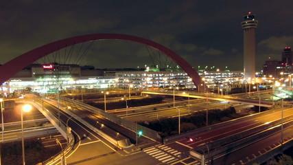 Nightscape at Haneda Airport