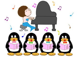 ペンギンのコーラス