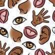 Five Senses Wallpaper