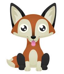 Fox Licking