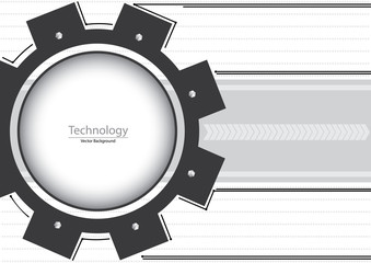 Technology Gears Background