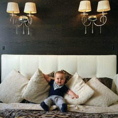 baby sit at parent's bed