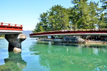 天橋立の可動橋