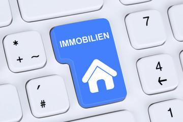 Immobilie oder Immobilien kaufen und verkaufen online auf Comput