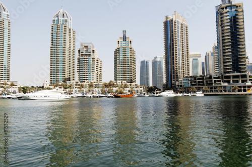 Foto Spatwand Dubai Dubai Marina