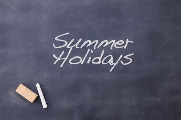 Summer holidays.