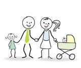 Fototapety glückliche Familie