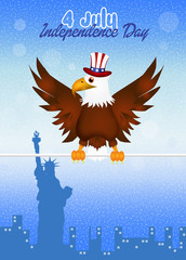 eagle on Independence Day