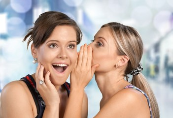 Whispering. Gossip
