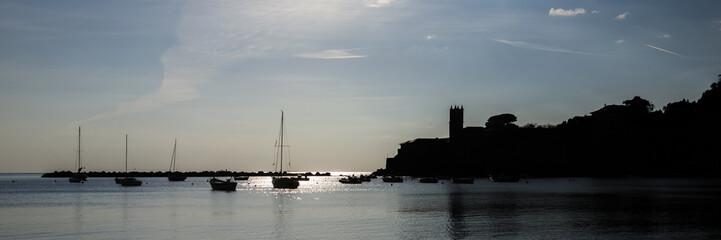 Silhouette in Sestri Levante