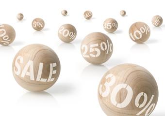 Sale Kugeln 5% - 35%