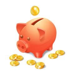 Piggy Bank Realistic
