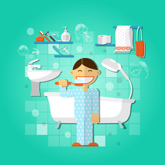 Personal hygiene concept