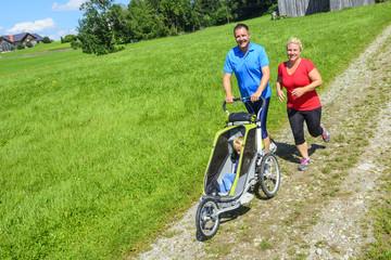 Sport mit Kinderwagen