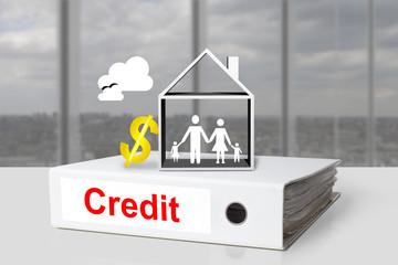 office binders credit dollar family symbol
