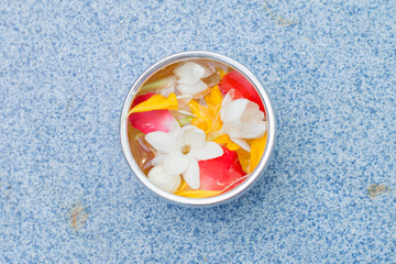 Thai garland Flowers and Water