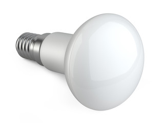 Modern LED lamp. ECO energy concept