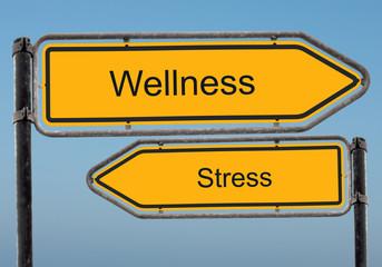 Strassenschild 39 - Wellness