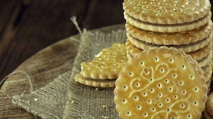 Cream Cookies (seamless loopable)