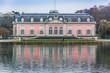Leinwanddruck Bild - Düsseldorf Benrath Schloss 01